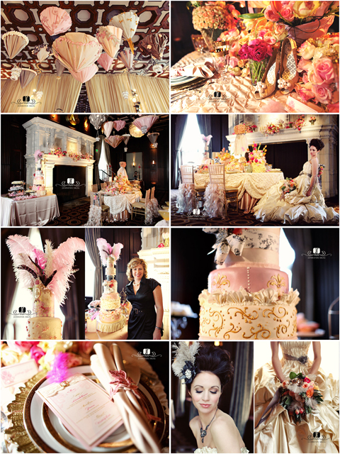 Jennifer Skog Marie Antoinette Wedding