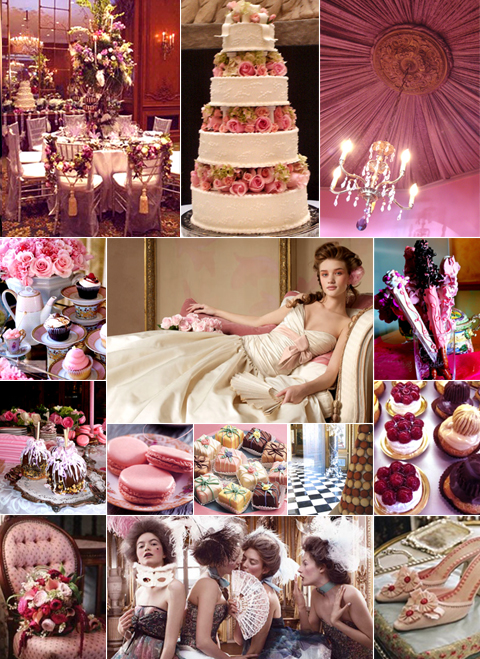 Marie Antoinette Wedding Inspiration