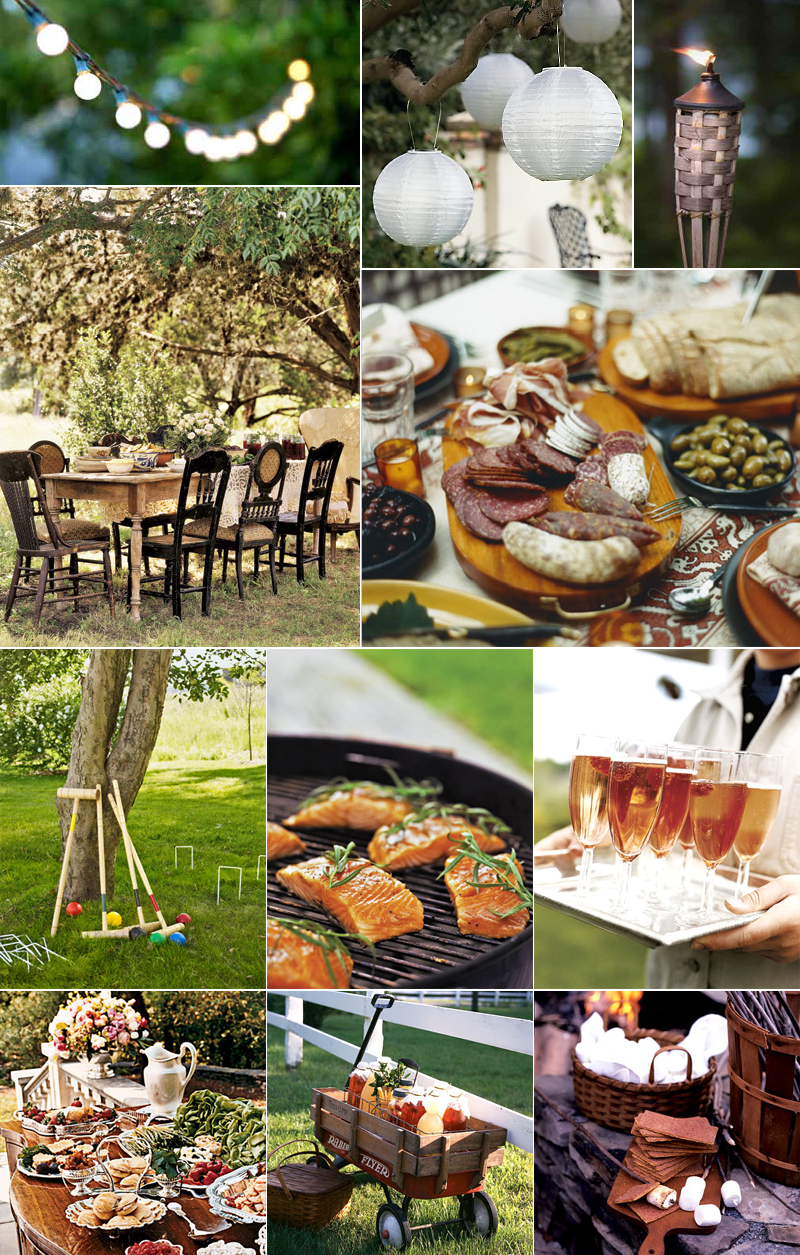 triyae com u003d elegant backyard engagement party ideas various