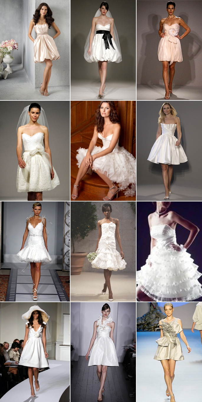 casual short beach wedding dresses