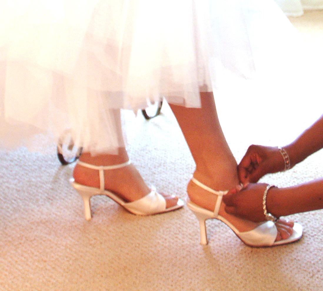 Colorful Wedding Shoes A Brides Best Friend