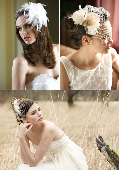 Birdcage Veils for Wedding Brides