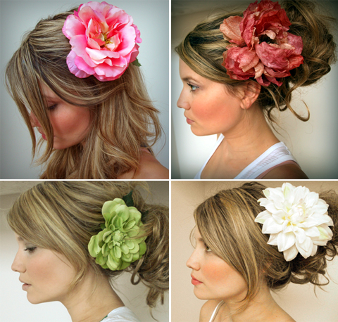 Accent Your Wedding Look With Silk Flower Hair Clips Pixel Ink