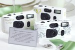We used disposable cameras like these at our wedding in 2004.