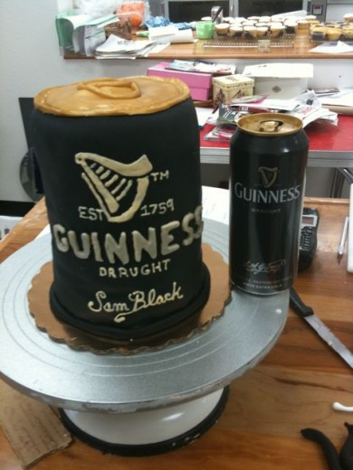Now that's a man's cake