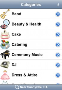 Screenshot- WeddingWire App