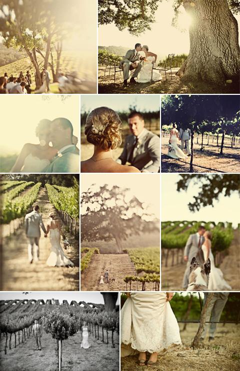 Vineyard Wedding of Erin and Greg