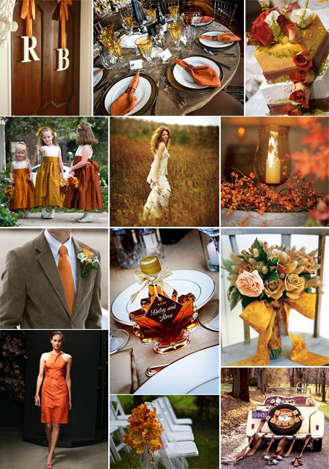 Fall Autumn Wedding