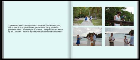 Wedding Book Sample from Inkubook