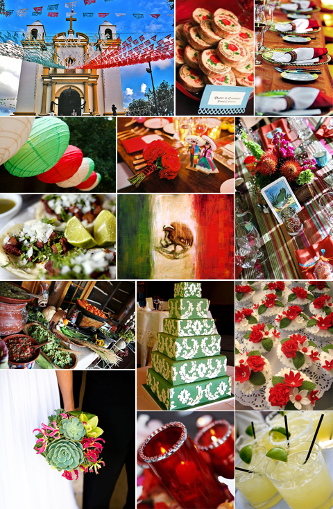 Mexican Independence Day Wedding Theme Inspiration