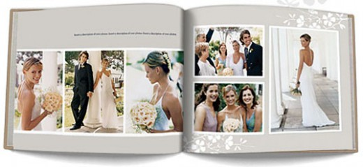 Wedding Book Sample from Mypublisher