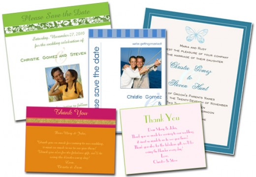 WedShare allows you to design your own e-Stationery, including thank-you cards. A record of sent correspondence is automatically added to guests' profiles