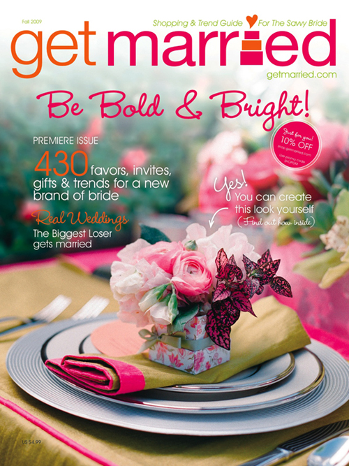 Get Married Magazine Cover October 2009