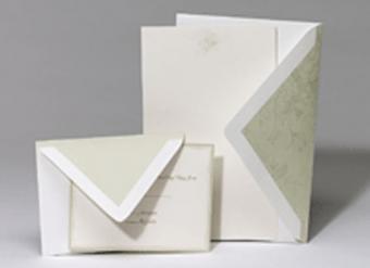 Green Floral Invitation Kit from Garner Studios