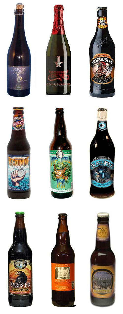 Gotta love Halloween. And Beer. Cheers!