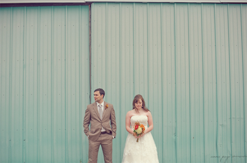 Kelley and Dean's Real Barn Wedding