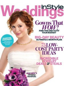 InStyle Weddings Cover