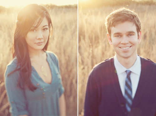 Jessica and Andrew E-Session in Orange County