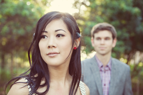 Jessica and Andrew E-Session in Orange County