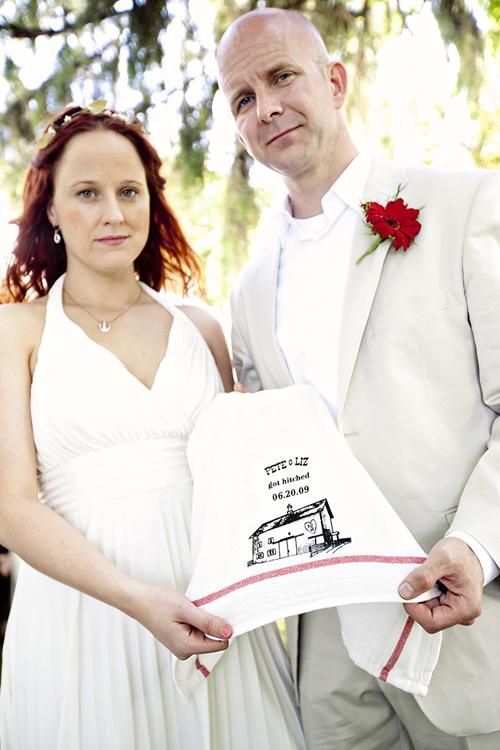 Liz and Pete's Backyard Wedding