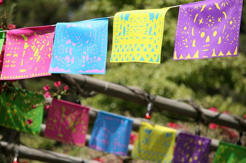Papel Picado for Dia De Los Muertos Wedding