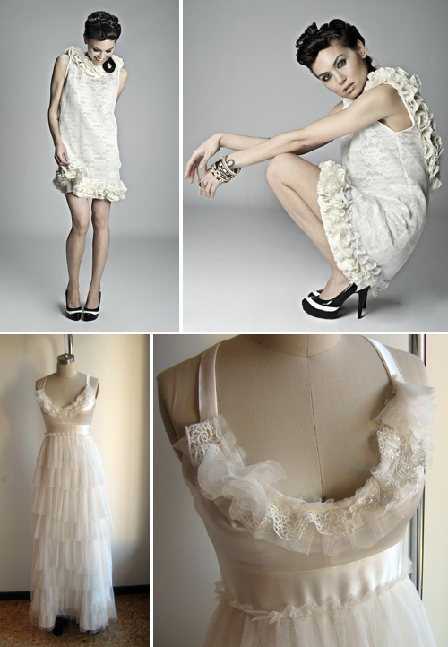 Handmade Wedding Gowns from Etsy | Pixel & Ink