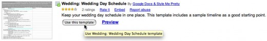 Search results display listings like this one for a Florist template