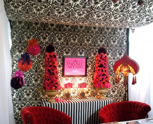Chic booths aplenty, including this one by A Private Affair Events