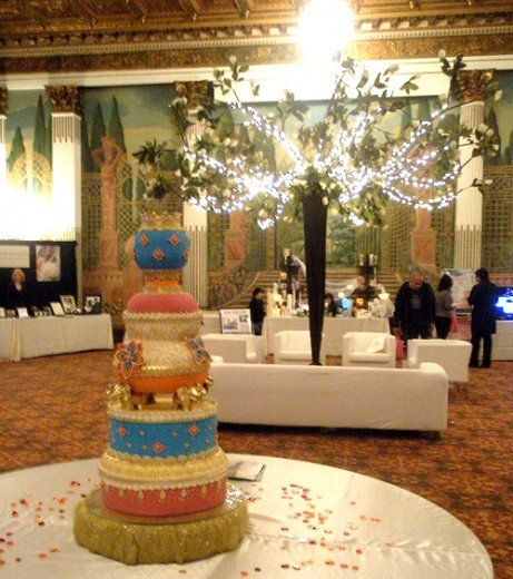 One of three main ballrooms of the International Wedding Fesitval in the Westin St. Francis this past Sunday