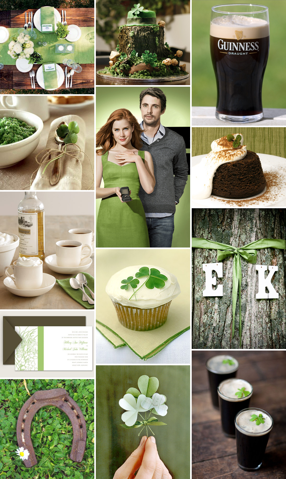 Outdoor Wedding Decorations Ireland : Inspiration a rustic st patrick s day engagement party pixel ink