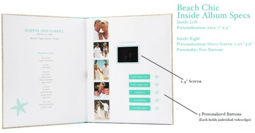 """Beach Chic"", one of the designs for My Video My Voice's digital video albums"