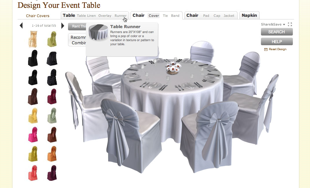 Creative Wedding Planning Tool: Online Table Designer | Pixel & Ink