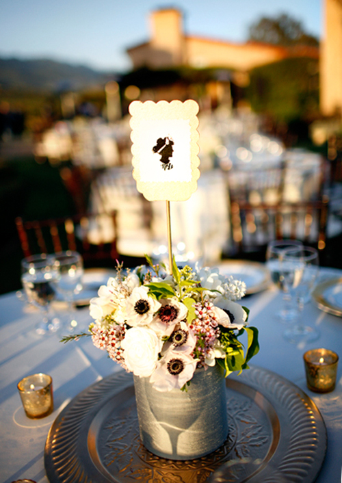silhouette-wedding-table-number