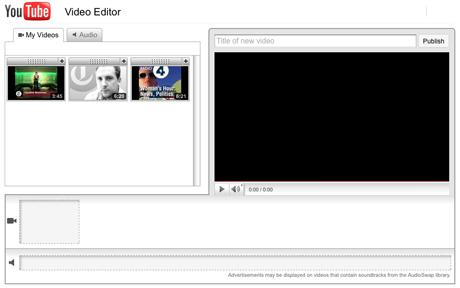 YouTube has launched an online video editor to make it easier for people to edit and publish their clips on the video-sharing site